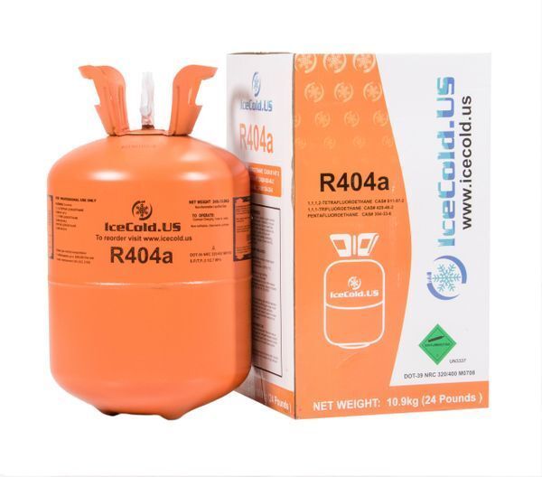 R404a R404 R-404 404a Refrigerant *24lb* tank. New Full and Factory Sealed