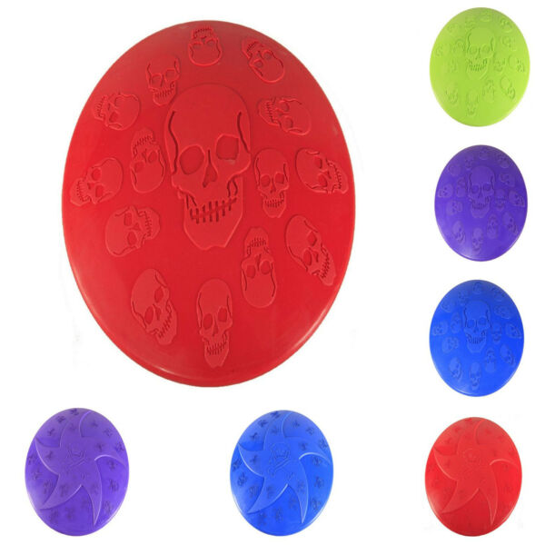 Pet Toy Soft Rubber Frisbee Fetch Throwing Training Colorful Flying Disc For Dog