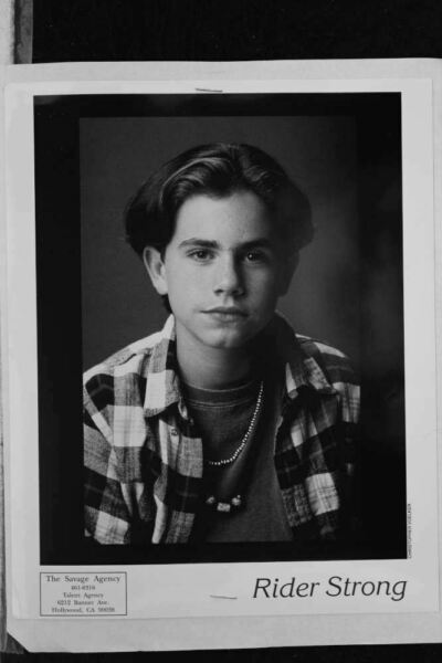 Rider Strong - 8x10 Headshot Photo with Resume - Boy Meets World
