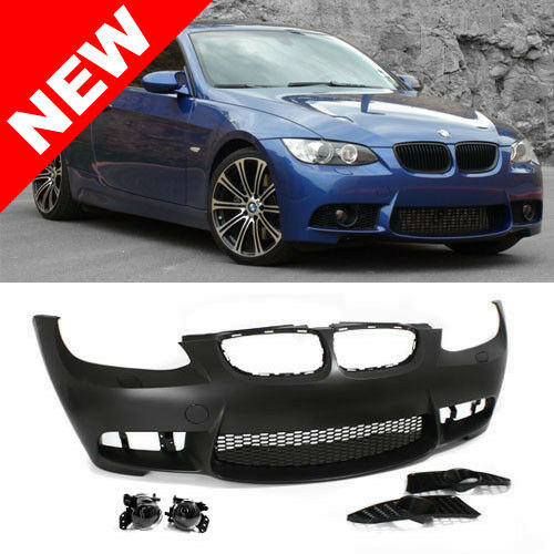 07-10 BMW E92E93 3-Series M3 Style Non-PDC Front Bumper Kit w Clear Fog Lights