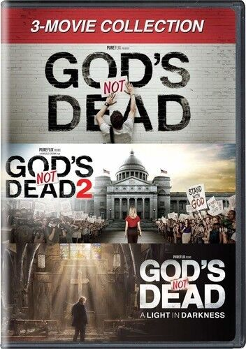 God#x27;s Not Dead: 3 Movie Collection New DVD 3 Pack