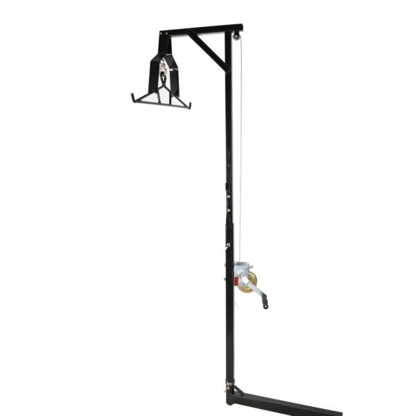 Hitch Mounted Big Game Hunting Deer Hoist with Winch Lift Gambrel 500lb Capacity $115.50