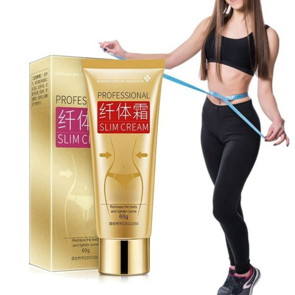 US Cellulite Removal Cream Fat Burning Slim Cream Tight Muscle Weight Loss 60g
