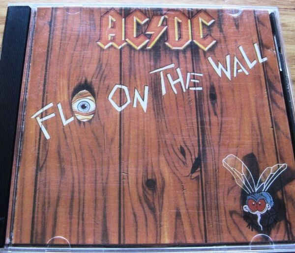 ACDC FLY ON THE WALL Original AUSTRALIAN 1st Picture Disc Albert CD 1995 EMI