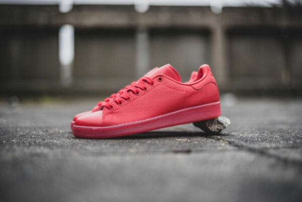 NEW Adidas Stan Smith Adicolor Scarlet Red Men's Shoes Leather Trainers S80248