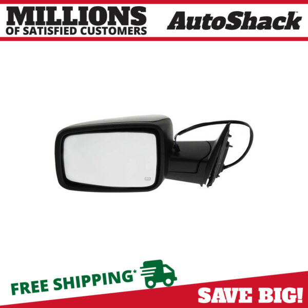New Power Heated Folding Left Driver (LH) Side View Mirror Fits 11-2012 Ram 1500