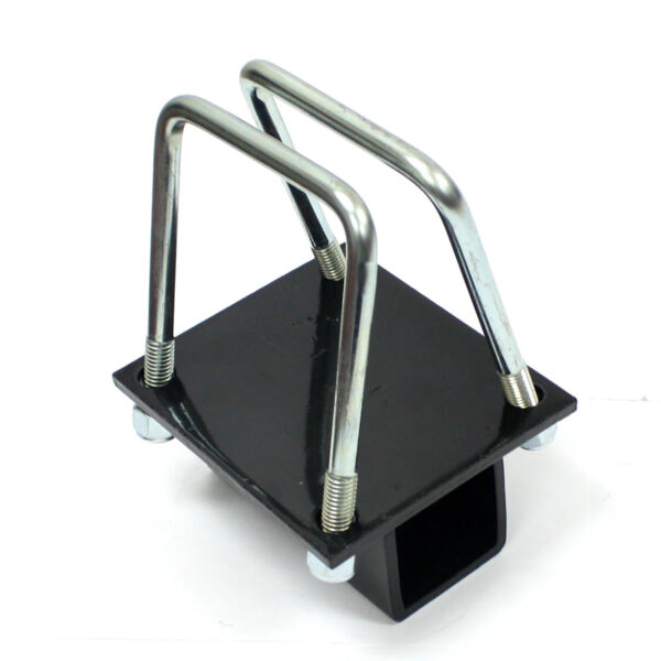 RV Bumper 2quot; Receiver Hitch Bike Rack Cargo Carrier 4quot; Square Adapter Receiver $18.99