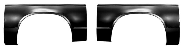 Rear Wheel Arch Bed Panel fits 82-93 Chevy S-10 S-15 Pickup-PAIR