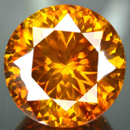 ~COLLECTIBLE~ 131.88  Cts Natural AA+ Sunset Orange Sphalerite Spain  (Video Avl