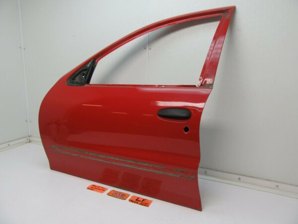 CAVALIER SUNFIRE LEFT FRONT DOOR PANEL SHELL CAR RED L LH LF DRIVER SIDE OUTER