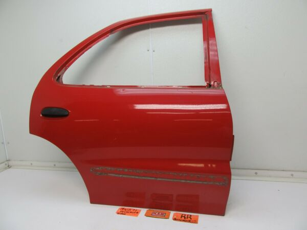 CAVALIER SUNFIRE RIGHT REAR DOOR PANEL BACK DOOR SHELL CAR RED R RH RR PASSENGER