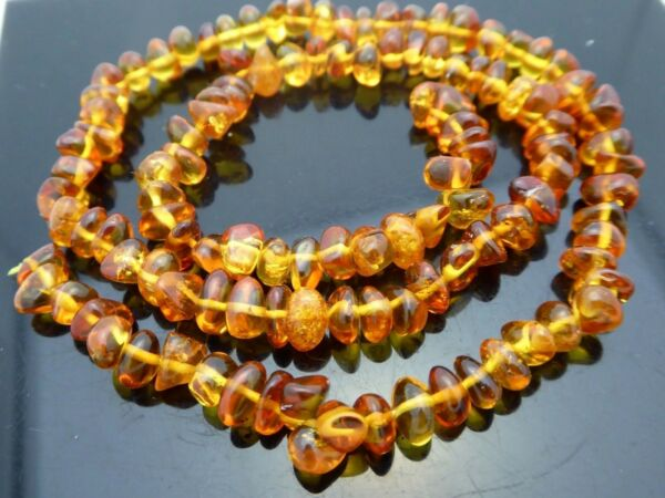 Natural Genuine Baltic Amber Nugget Freeform Untreated Gemstone Beads Std 16quot;