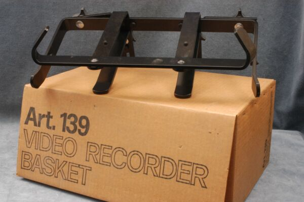 NOS BOGEN TRIPOD VIDEO RECORDER BASKET #139 amp; 3145 ATTACHES TO TRIPOD