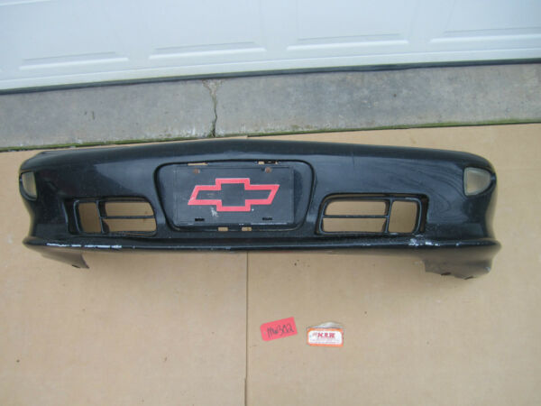 96 97 98 99 CAVALIER Z24 FRONT BUMPER COVER BLACK W MARKER LIGHT RIGHT LEFT CAR