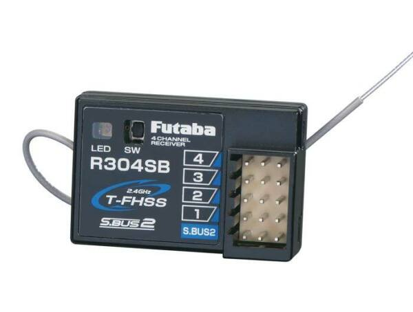 Futaba R304SB 2.4GHz FHSS 4 Channel Telemetry Receiver 4PLS $69.99