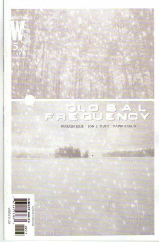 GLOBAL FREQUENCY 5 WARREN ELLIS JIM LEE JON MUTH BRIAN WOOD NM 1ST PRINT