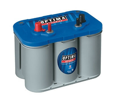 Optima D34M 8016-103 12-Volt BlueTop Starting and Deep Cycle Marine Battery
