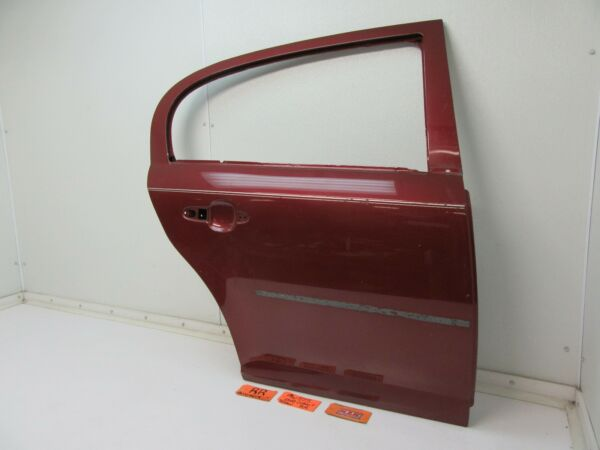 RIGHT REAR DOOR SHELL PANEL RED 4 DOOR SEDAN PASSENGER SIDE BACK OUTER FRAME RR