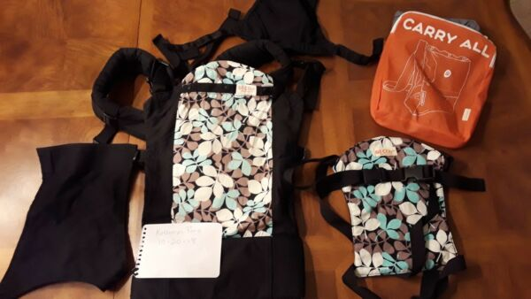 Beco lot. Butterfly 2 Baby Carrier quot;Lunaquot; Print Matching Toy Carrier $95.00
