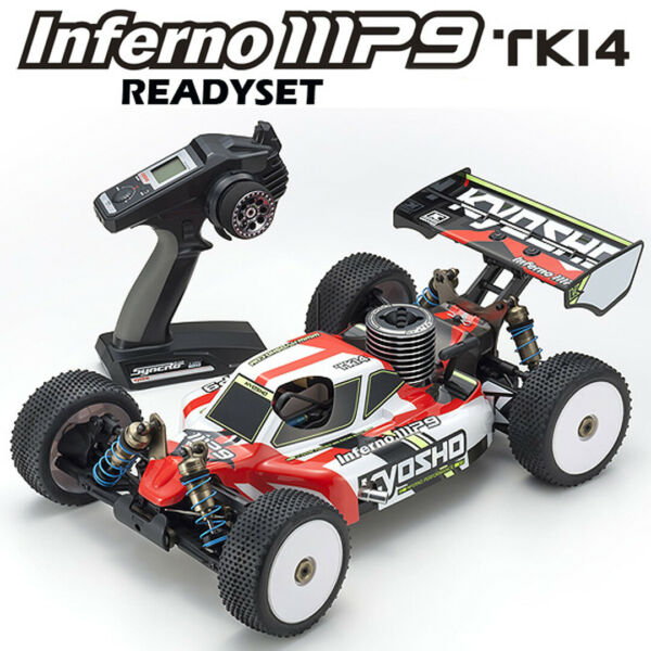 Kyosho 33014T1B 18 INFERNO MP9 TKI4 Racing Buggy RTR