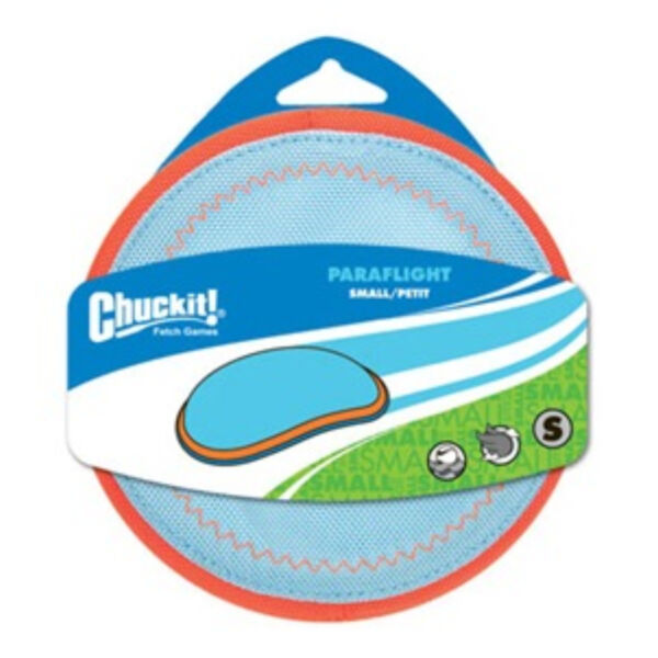 Chuckit PARAFLIGHT Dog Fetch Toy Small Frisbee Great for Land and Water 6.5 Inch $9.20