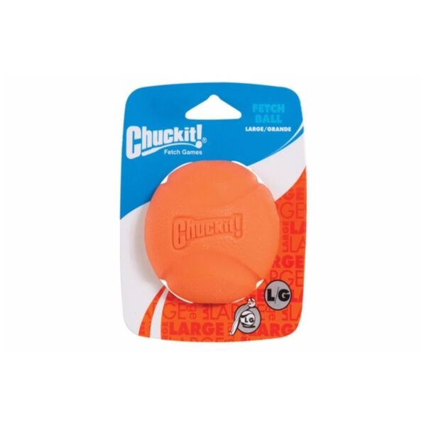 Chuckit FETCH BALL LARGE 3-inch Ball Dog Fetch Toy 1-pack Colors May Vary $8.74