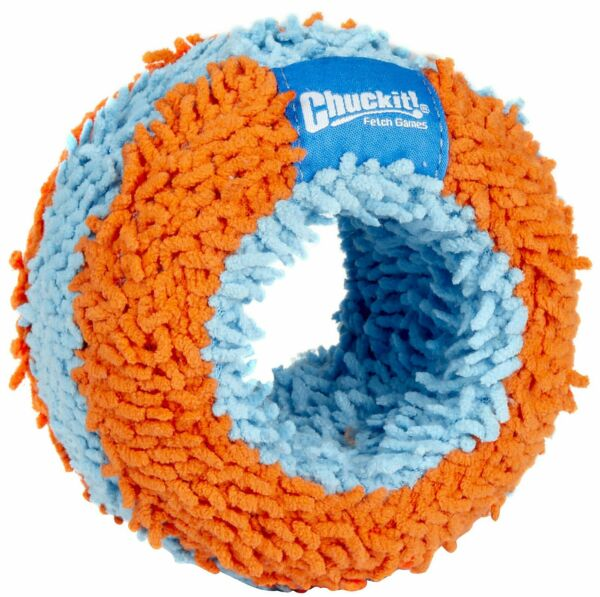 Chuckit! INDOOR FETCH TOYS Dog Puppy Soft and Quiet Interactive ROLLER RING $9.55