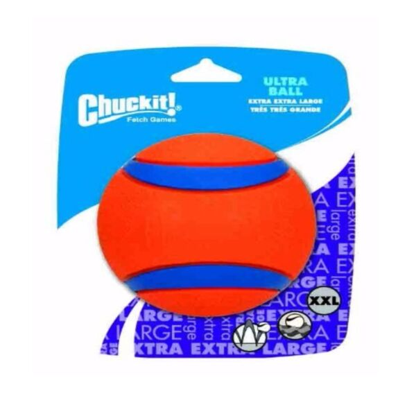 Chuckit! Dog Fetch Toy ULTRA BALL Durable Rubber 4-inch XX-LARGE $13.04