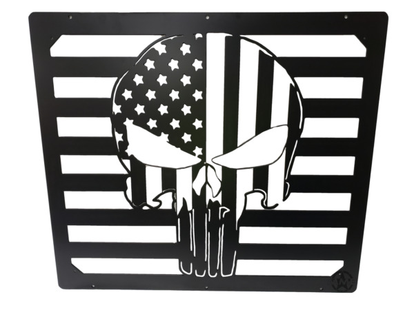 American Punisher Hood Vent Grill for HUMVEE m998 m1045 m1123 m1097 hummer h1