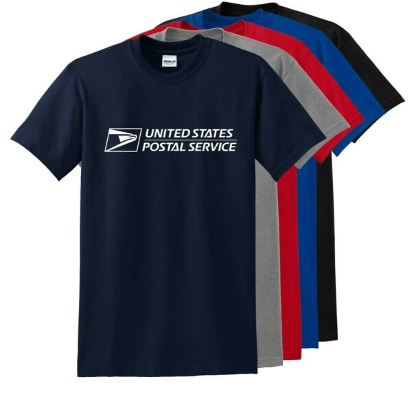 Unisex USPS Postal Post Office Sleeve Tee T shirt Any color you like