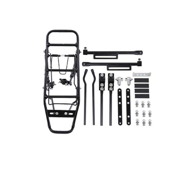 Aluminum Bicycle Mountain Bike Rear Rack Seat Post Mount Pannier Luggage Carrier $20.90