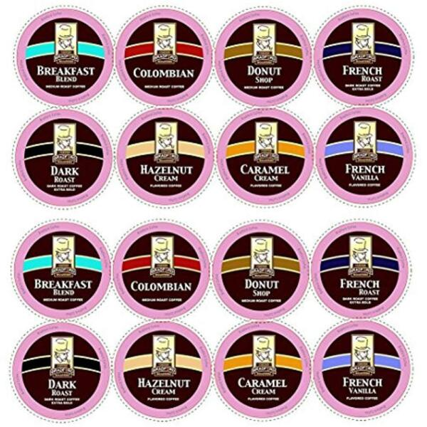 100ct SingleServe Capsules & Pods Variety Pack For Keurig K-cups 8 Assorted Cup