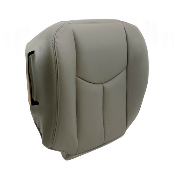 Driver Bottom Seat Cover Gray For 2003 2004 2005 2006 Chevy Tahoe Suburban