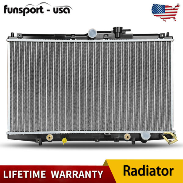 2148 Radiator for 1998-2002 Honda Accord DX EX L4 2.3L w/Oil Cooler Lifetime US