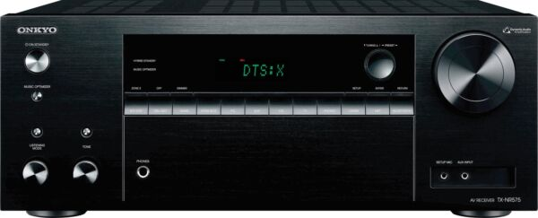 Open-Box Excellent: Onkyo - TX 7.2-Ch. Hi-Res Network-Ready 4K Ultra HD and 3...