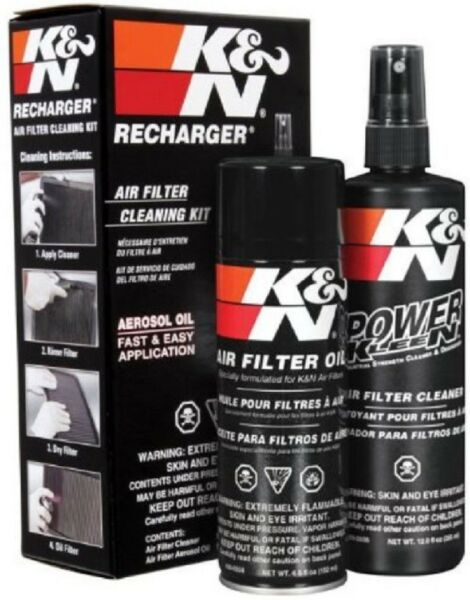 KN Air Filter Oil Care Cleaning Service Kit Recharger Aerosol Car Spray 99-5000