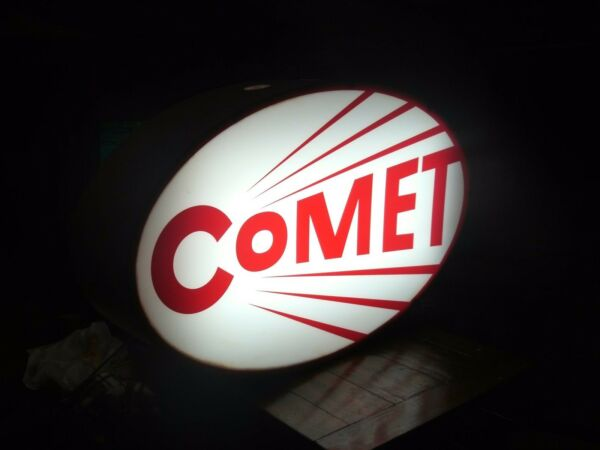 Comet Revolving Lighted Sign