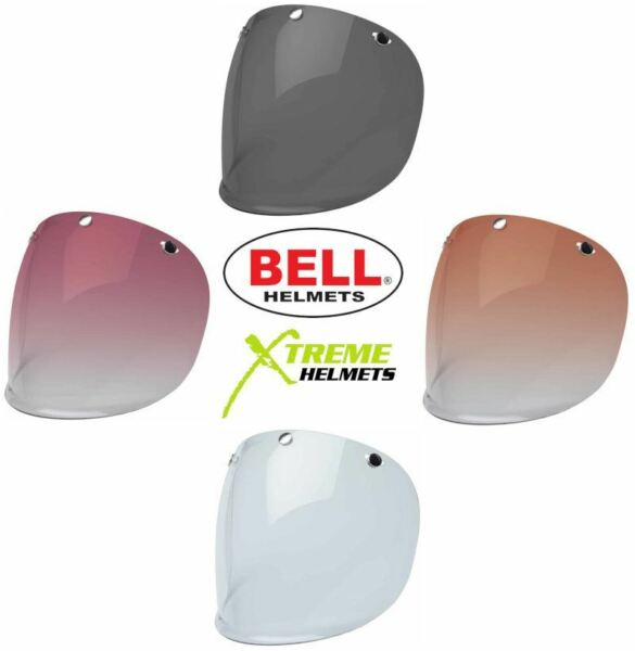 Bell 3 Snap Shield Replacement for Custom 500 Helmet Fits XS L Only $19.95