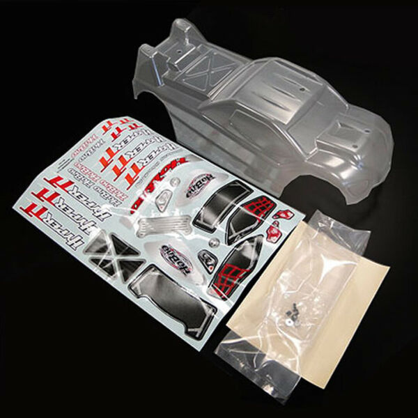 HoBao 11107 110 Electric Clear Body w Decals : Hyper TT