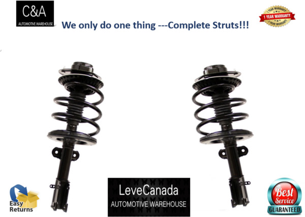 2010 2012 Subaru Outback 2 Front Complete Struts Excl. Limited and Base C $224.98