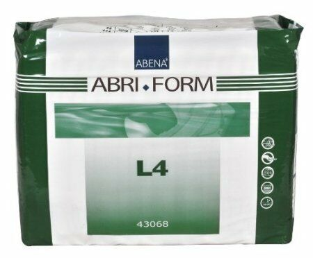 Abena 4168 Abri-form Absorbent Adult Brief Diaper Large Pack12 NEW 8 PACK