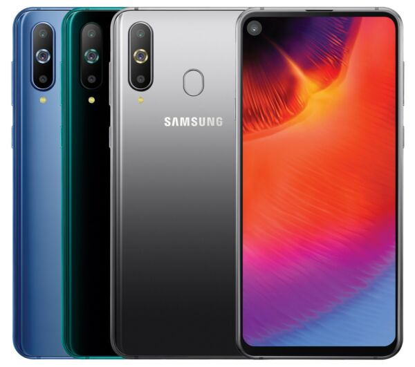 Samsung Galaxy A8s 2019 SM-G8870 (FACTORY UNLOCKED) 6.4 128GB 6GB RAM Black Blue