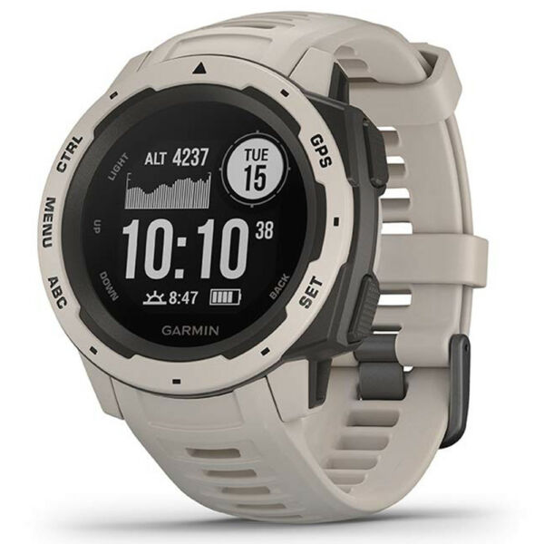 Garmin Instinct Rugged Outdoor GPS Watch - Tundra (OPEN BOX)
