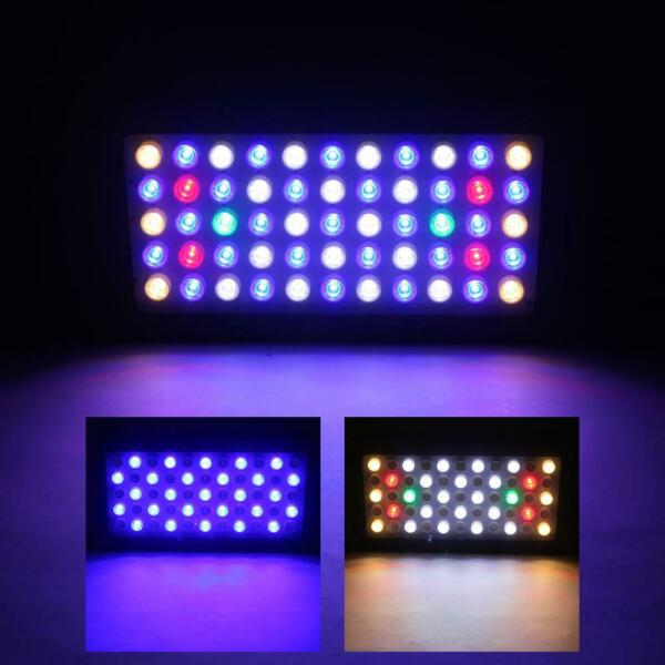 165W 55 LED Aquarium Light Full Spectrum Freshwater Coral Fish Tank Lamp Bulbs $68.99