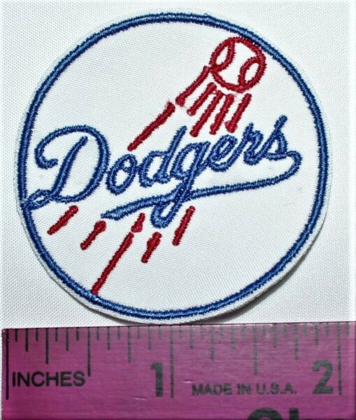 Los Angeles Dodgers Baseball Embroidered Very Small 2 in. Iron Patch