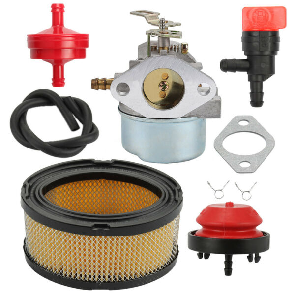 Carburetor 640052 Fuel Filter for Tecumseh HMSK80 Snow Blower 640054​ 640349