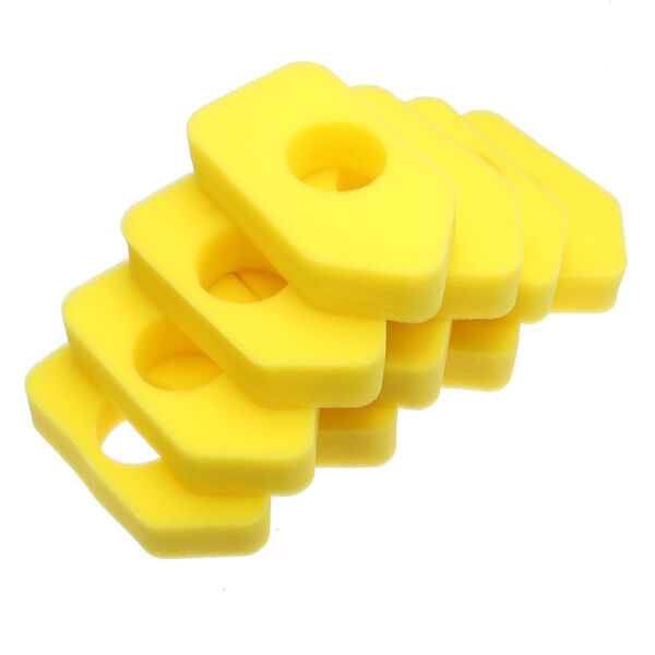 10x Yellow Foam Air Filter For Briggs & Stratton 698369 4216 5088 490-200-0011 !