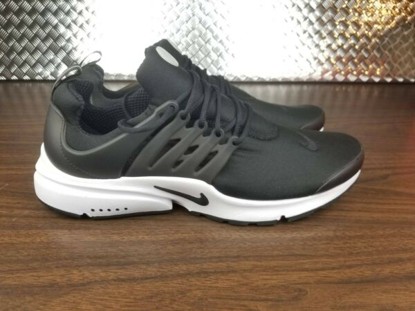 Nike Air Presto Essential Black White Mens Running shoes New 848187-009 Size 13