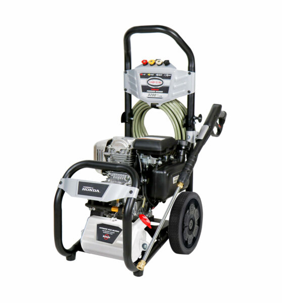 Simpson Megashot 3200 PSI 2.5 GPM Gas Pressure Washer with Honda GC190 Engine