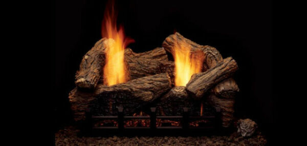 Monessen Highland Oak Vent Free Gas Logs - 24